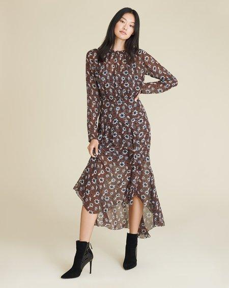 Veronica Beard Sazan Dress - Clay Floral