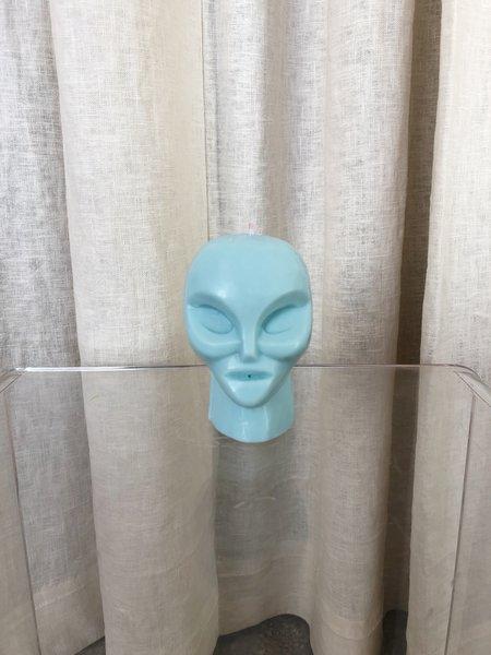 Ri-Ri-Ku ALIEN CANDLE - BLUE