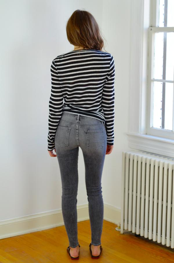 FRAME Denim Le Skinny de Jeanne in Chambers