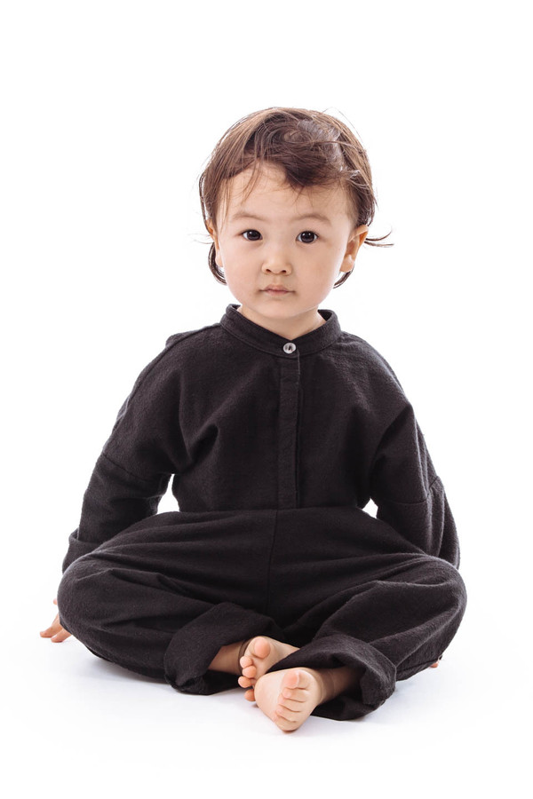 Black Crane Kids Jumper (Black)