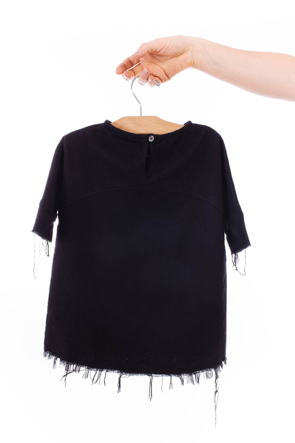 Black Crane Kids Painter Dress (Black)