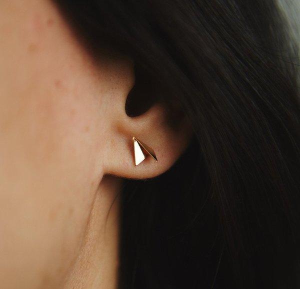 Mau Mini fold Earrings