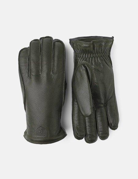 Hestra Elk Leather Frode Gloves - Loden