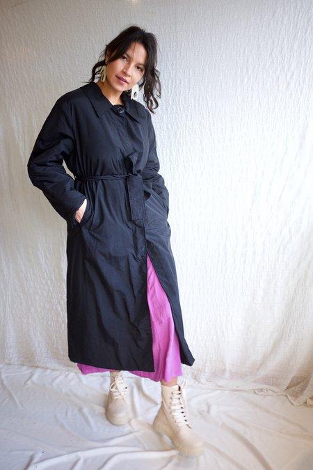 Rita Row Lea Coat - Black
