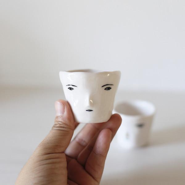 Rami Kim Face Soju Cup