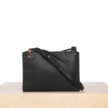 ELA HANDBAGS Crossbody Wallet - Black