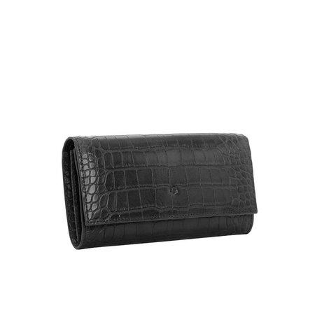ELA HANDBAGS Two in One Wallet - Black