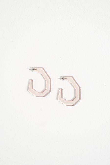 Rachel Comey Baby Factor Earring - Clear Pink