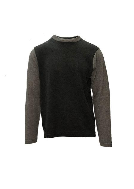 FUJITO L/S Knit T-Shirt  - Grey