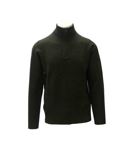Hartford Trucker sweater - Thyme/Green