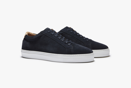 Uniform standard Series 1 shoes - Ink Navy Suede