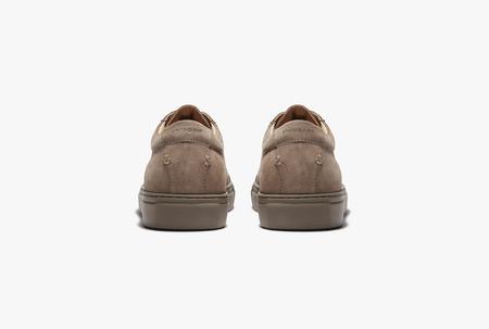 Uniform standard Series 1 shoes - Triple Taupe Suede