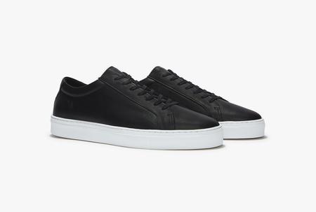 Uniform standard Series 1 shoes - Double Black Leather