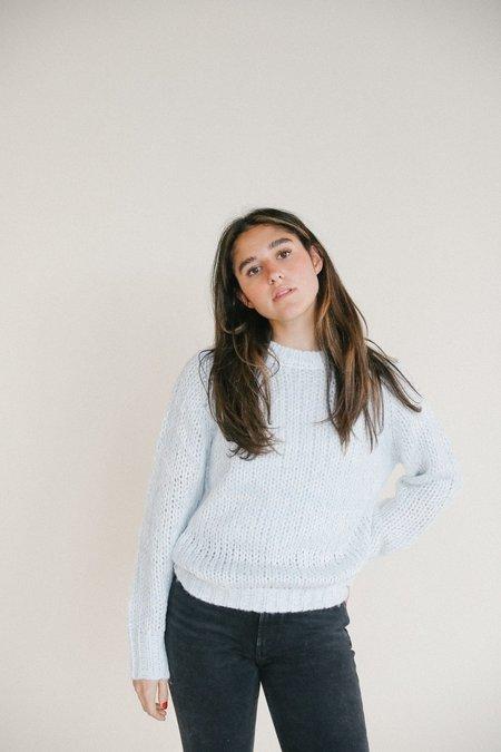 Line John & Jenn Nicholai Knit Sweater - Arctic
