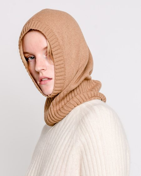 Rita Row Miley Knit Baclava - Camel