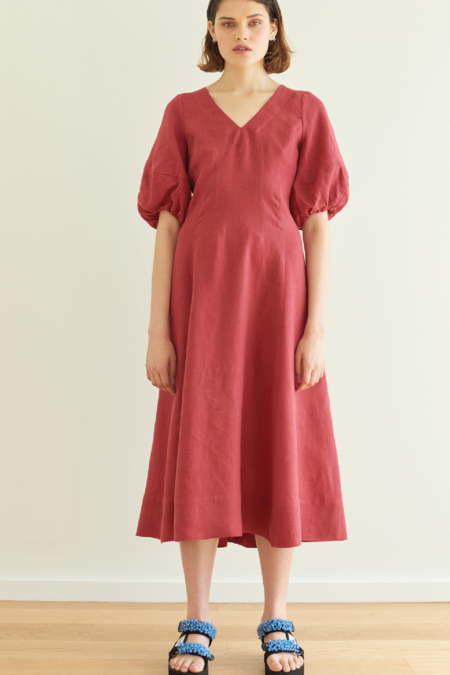 hej hej Proud as Punch Dress - Cherry