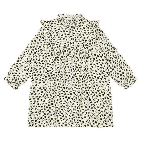 KIDS Bonton Child Penny Dress - Beige Leopard Print