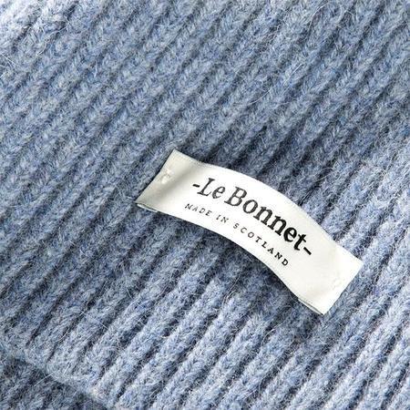 Le Bonnet Child Beanie - Washed Denim Blue
