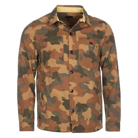 Barbour Button Thru Overshirt - Camo