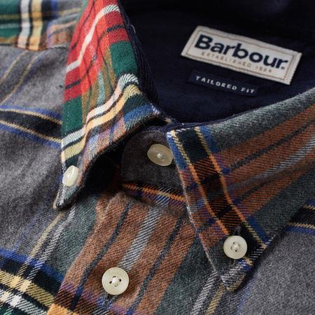 Barbour Castlebay Shirt - Grey Marl