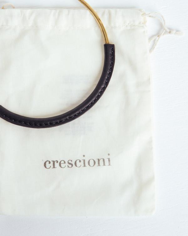 Crescioni Kiva Necklace in Black