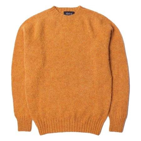 Howlin' BIRTH OF THE COOL Wool Sweater - Gold Yellow