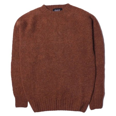 Howlin' BIRTH OF THE COOL Wool Sweater - Tobacco Brown