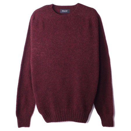 Howlin' BIRTH OF THE COOL Wool Sweater Bordeaux