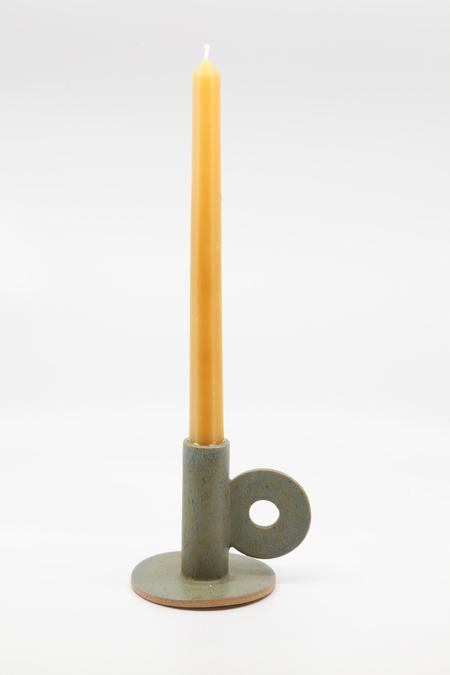 The Great Escape Studio Loop Candle Holder - Green