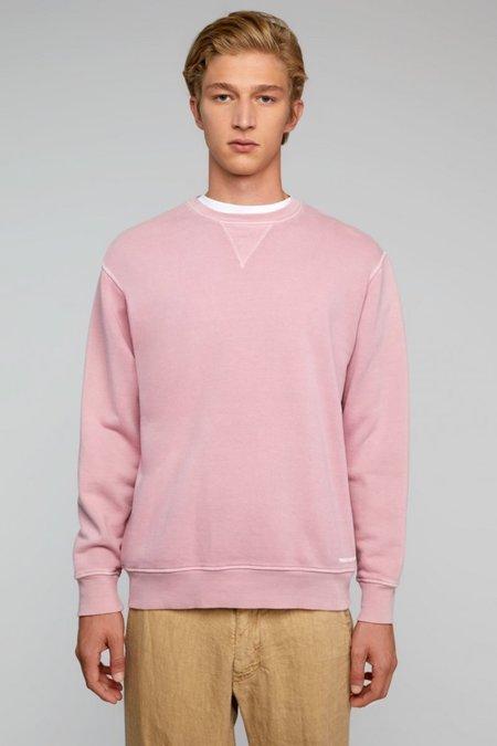 President's P'S Stone Wash Dye Sweatshirt - Rose