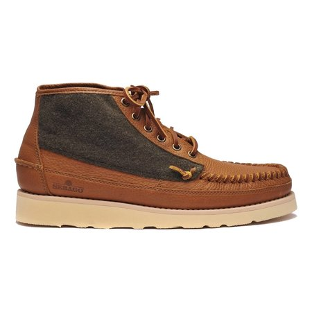 Sebago SENECA Mid Wool  Campsides - Brown Tan