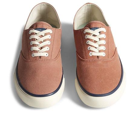 Sperry Topsider Unisex Cloud CVO Deck Sneaker - Washed Red