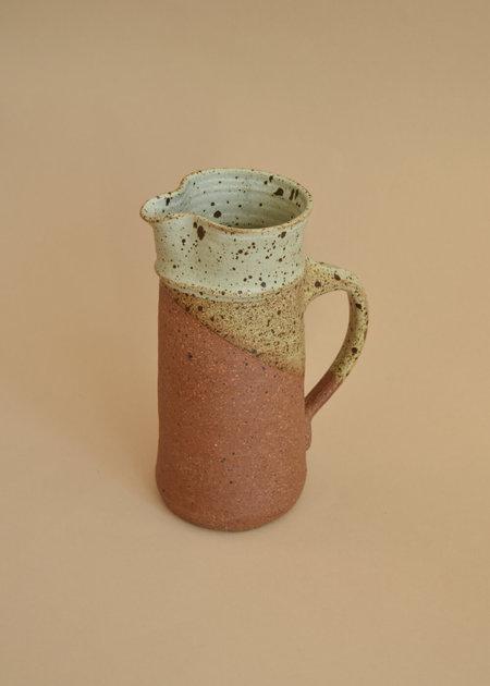 Vintage Handmade Ceramic Pitcher