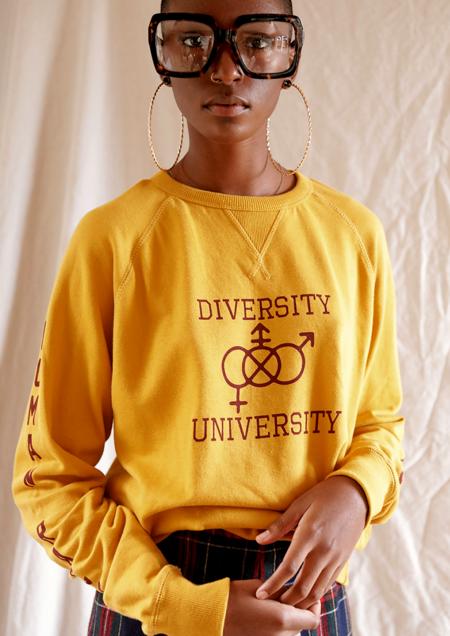 Sugarhigh Lovestoned Diversity Crewneck - Yellow