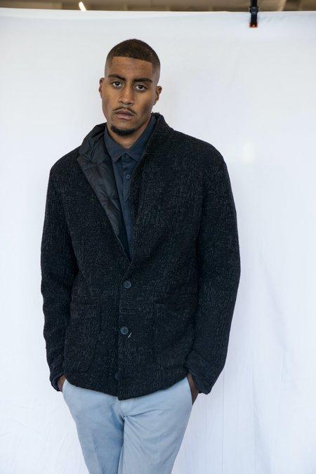 Transit Wool/Nylon Reversible Blazer - Black