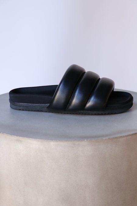 Roam Super Puff Sandals - Black