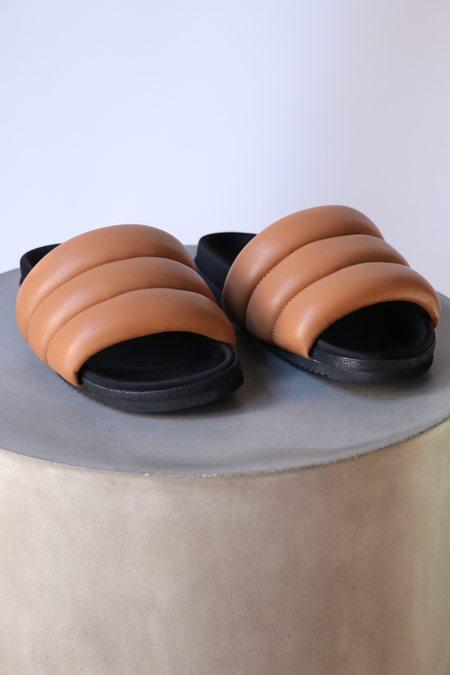 Roam Super Puff Sandals - Cognac