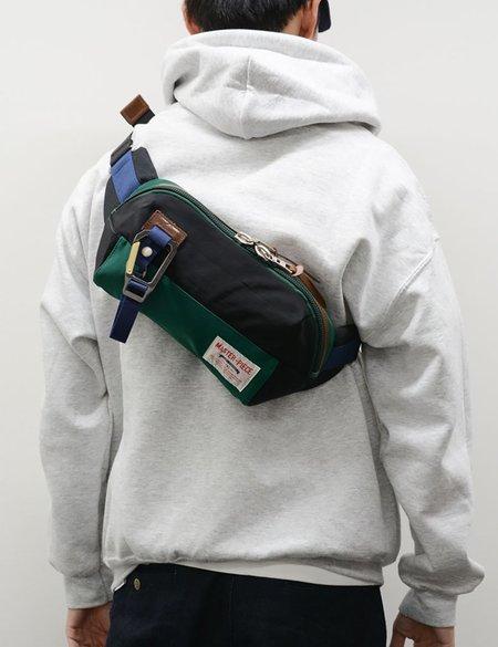 Master-Piece Link Waist Bag - Green/Black