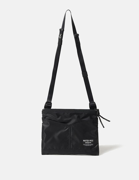 Master-Piece Rush Side Bag - Black
