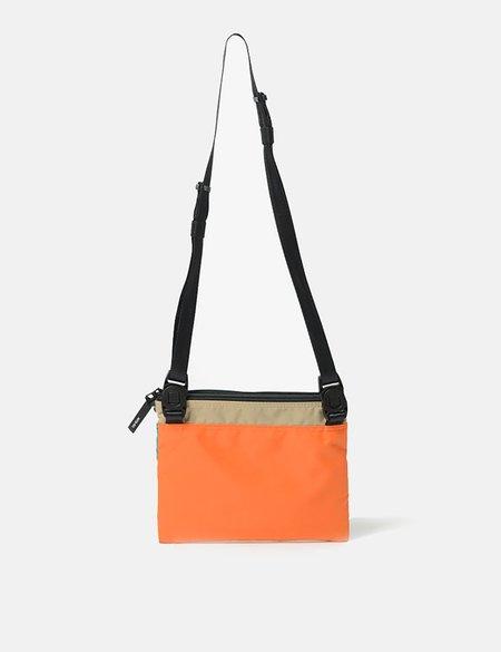 Master-Piece Rush Side Bag - Purple/Turquoise/Orange