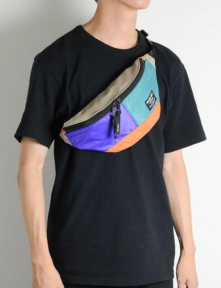 Master-Piece Rush Waist Bag - Purple/Turquoise/Orange
