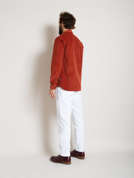 Freemans Sporting Club CS-1 Shirt - Rust Cord