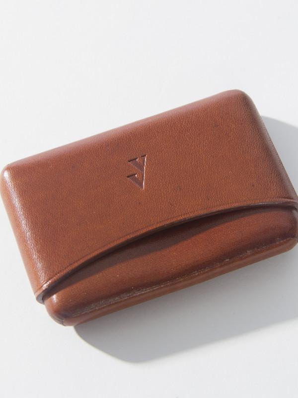 VereVerto Brev Card Holder Brown