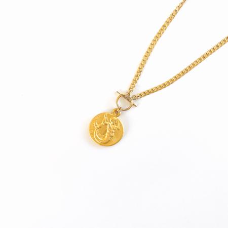 Bijoux B Greek Choker Necklace - 14k gold fill