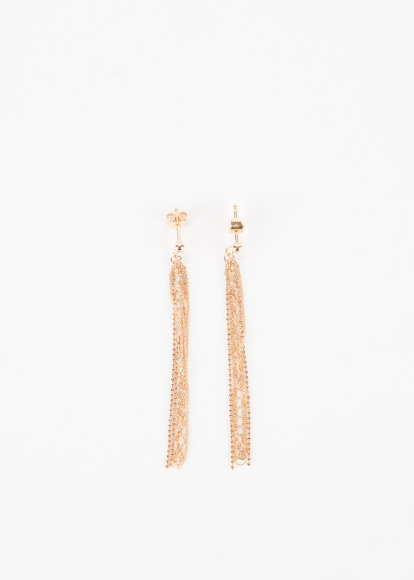 Ginette NY Unchained Long Earrings