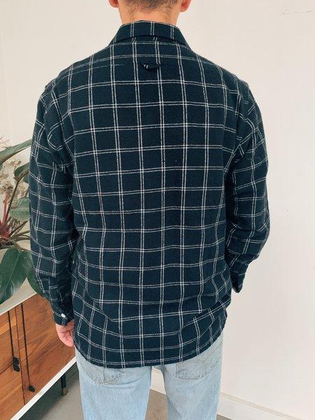 Far Afield Bartos Long Sleeve Shirt - Navy