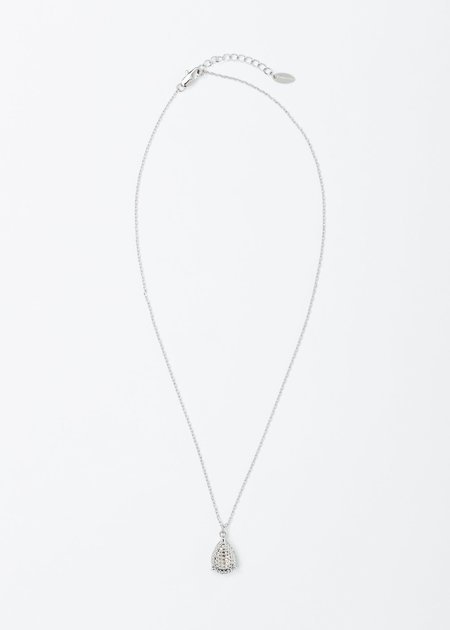 DEPARTMENT White Gold Water Drop Necklace - White Gold