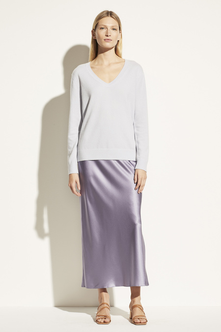 Vince Weekend V-Neck TOP - French Lilac
