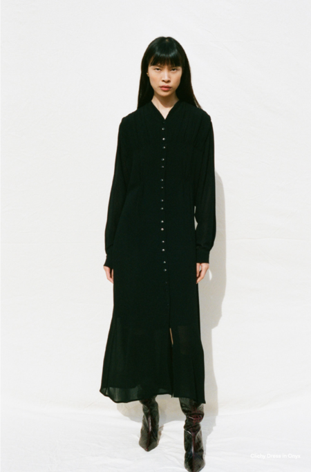 Shaina Mote Clichy Dress - Onyx