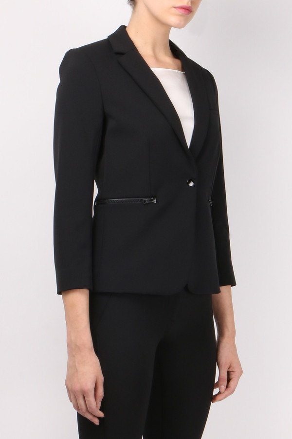 Veronica Beard Scuba Schoolboy Jacket